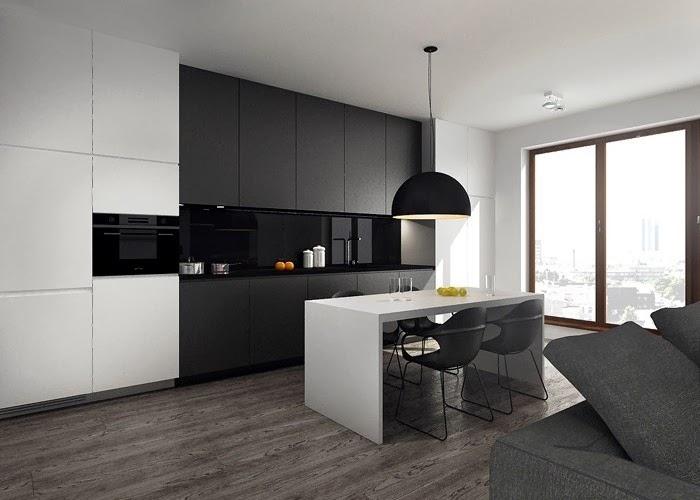 cocina-minimalista-blanca-y-negra2 Blog