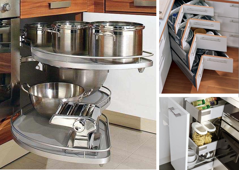 Ideas Para Mantener El Orden Ar Cocinas ~ Accesorios Interior Armarios Cocina